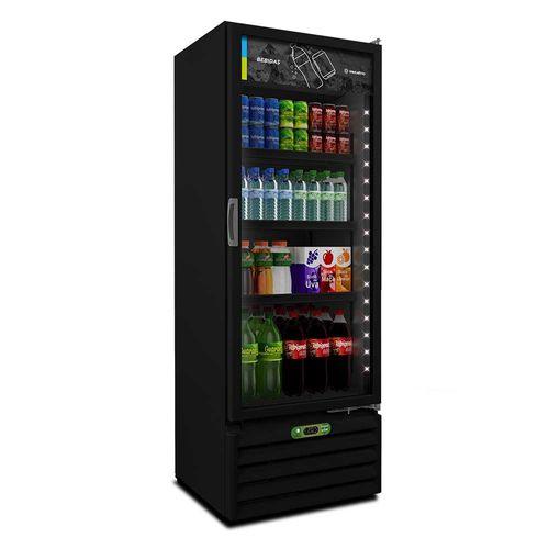 Geladeira de Bebidas VB40RH All Black Metalfrio Geladeira de Bebidas 220V All Black